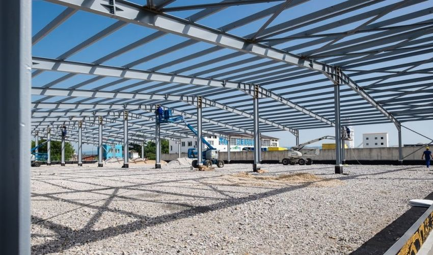 Metal Building Components Structures 1